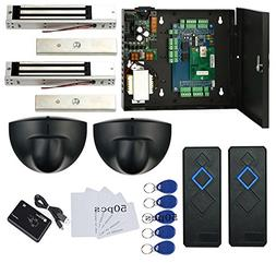 TCPIP 2 Doors Magnetic Lock Access Control Systems Request t
