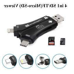 Trail Camera Viewer SD & Micro SD Memory Card Reader for iPh
