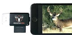 Apex Outdoors Trail Camera Viewer 3 in 1 for iPhone & Androi