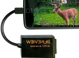 BoneView Trail Camera Viewer for Type-C Reversible USB Andro