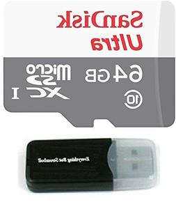 Sandisk Micro SDXC Ultra MicroSD TF Flash Memory Card 64GB 6