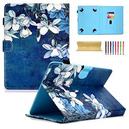 Coopts 7.0 Inch Universal Tablet Wallet Case for Samsung Gal