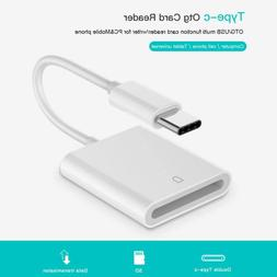 Universal USB 3.1 Type C USB-C to SD SDXC <font><b>Card</b><