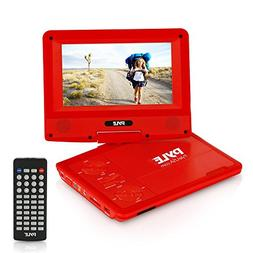 "7"" Portable Multimedia Disc Player - High Res CD DVD Player"