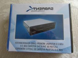 SABRENT USB 2.0 INTERNAL MEMORY CARD READER WRITER.  NEW
