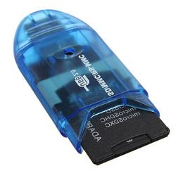 USB 2.0 Memory Card Reader Writer Adapter for S-D MMC S-DHC