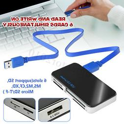 USB 3.0 Compact Flash Multi Card Reader All in 1 CF Adapter