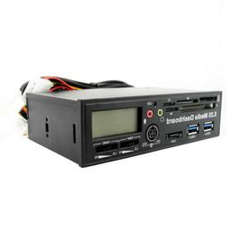 5.25 Inch USB 3.0 PC Front Panel Media Dashboard Card Reader