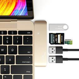 USB C 3.1 Hub, Adapter for 12 inch MacBook Pro 2016 13 inch