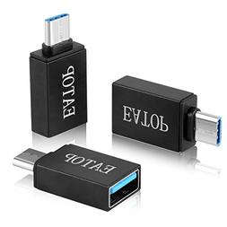 USB C Adapter,EATOP  Hi-speed USB-C to USB-A 3.0 Adapter for