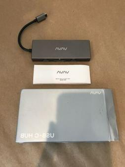 VAVA USB C Hub 8-in-1 Adapter with PD Power Delivery, 1Gbps