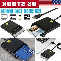 Smart Card Reader DOD Military USB CAC Mac OS Windows Linux