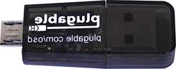 Plugable USB MicroSD Card Reader for Phone, Laptop, and Tabl