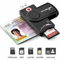 USB Smart Card Reader, DOD Military CAC Memory Patible With