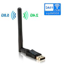 Rocketek 600M USB Wifi Adapter for PC laptop and tablet - 60