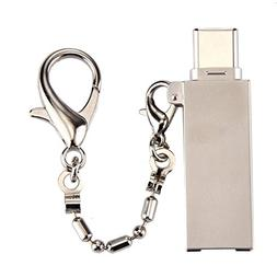 Bestmemories New USB3.1 to Type-C USB Aluminum Alloy Card Re
