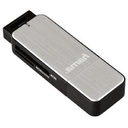 Hama USB3 Card Reader for SD/MicroSD UHS-I Silver