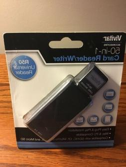 Vivitar 50-in-1 R50 Universal Card Reader  Mac & PC Compatib