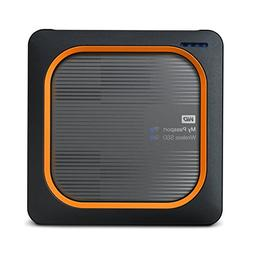 WD 500GB My Passport Wireless SSD External Portable Drive -