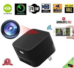 DENT 1080P USB Charger Camera WiFi - HD Live Streaming Video