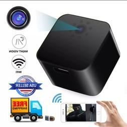 WiFi USB Wall Charger spy camera full HD1080P Motion Night V