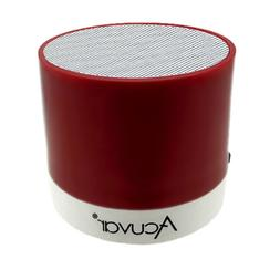 Acuvar Wireless Rechargeable Mini Speaker with SD Card Reade
