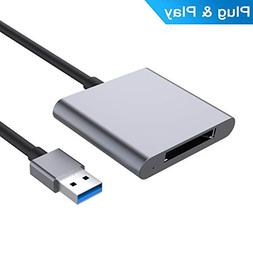 XQD Card Reader, USB3.0 Card Reader, Aluminum Alloy Flash Me